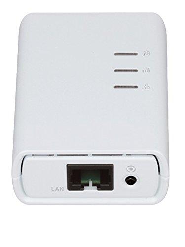 D-Link DCS-6045LKT Videocamera Powerline di Sorveglianza Cloud N Day&Night, Bianco