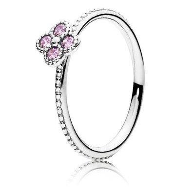 Pandora-Ring-50-dargento-191001PCZ-femminile-orientale-fiore-rosa