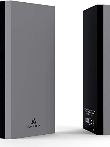 Black Rock - Fitness Power Pack 8000 mAh | Handy und Smartphone Powerbank klein & leicht - Akku, Batterie für Dein Sport Workout (grau/schwarz)