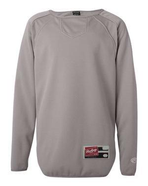 Rawlings. Steel Grey. S. 6705. 00808995131309 (Halsband-athletic-shirt)