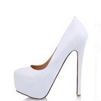 MissBoot pompe di cuoio della piattaforma scarpe tacco a spillo