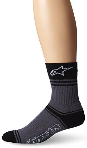 Alpinestars Herren Summer Socken, grau/schwarz, L/XL