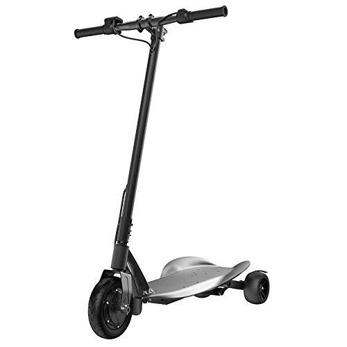 ZDDOZXC Elektroroller Falten Tragbare Elektrische Dreirad Erwachsene / Kinder Kleinen Roller Mini Tragbare Lithium-Batterie-Batterie Auto 36V Kann Gewicht 200 Kg Standhalten Black-children\'s 250W
