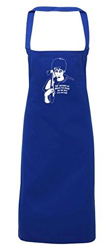 Thriller Kostüme Beste (hippowarehouse Donnie Darko das Träume, in denen Ich bin sterben, sind die besten, die ich je hatte Schürze Küche Kochen Malerei DIY Einheitsgröße Erwachsene, königsblau,)