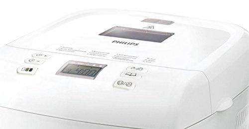 Philips Daily Collection HD9015/30 Macchina del Pane, 550 W, 1 kg, Timer Integrato, Bianco - 3