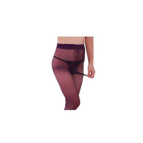 Celucke Unterwäsche Herren Transparent, Mens Footless Strumpfhose Nylon Strumpfhose Durchgehendem Body -