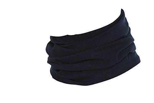 Hilltop Multifunktionstuch, Kopftuch, Motorrad-Halstuch, Bandana/TOP Farben, Farbe/Design:dunkelblau uni