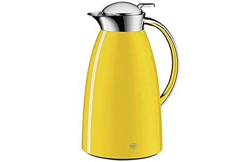 Alfi Gusto Metall 3521200100 Isolierkanne 1 Stück (1 Liter, 17 x 15 x 27.5 cm) sun - Kaffeemaschine Vakuum Glas