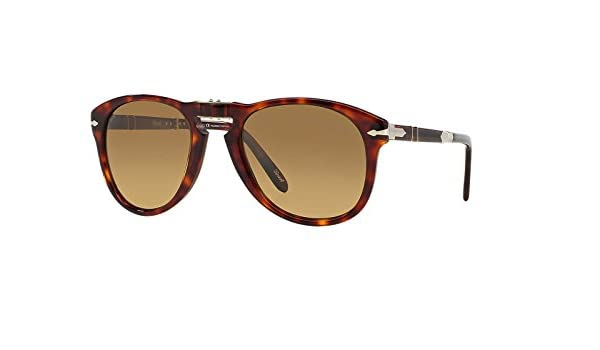 0b97404171e Persol Steve McQueen PO714SM - 24 81 Polarized Folding Sunglasses 54mm   Amazon.co.uk  Clothing