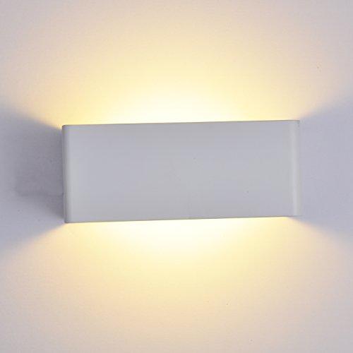 Topmo-Applique-da-parete-7W-LED-Lampada-da-parete-in-alluminio-bianco-Angolo-del-fascio-di-180-gradi-lampadine-interne-Bianco-caldo-20108cm