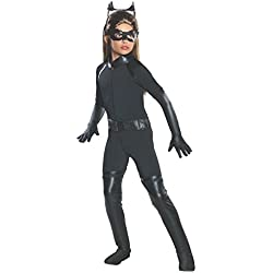 Rubies Costume Co R881288-L Girls Deluxe Catwoman Costume LARGE