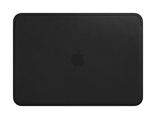 """Apple Custodia in pelle (per MacBook12"""") - Nero"""