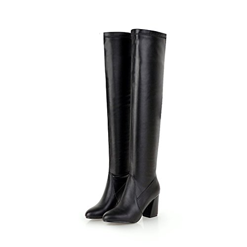 wetkiss Fashion Lady Over The Knee Boots high Thick Heels Thigh high Boots Winter Shoes Women