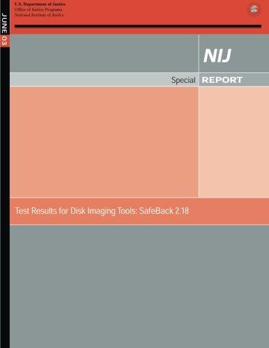 Test Results for Disk Imaging Tools: SafeBack 2.18 por Sarah V Hart