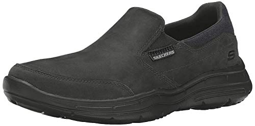 Skechers Glides-Calculous 64589, Zapatillas de Entrenamiento para Hombre, Negro Black, 40 EU