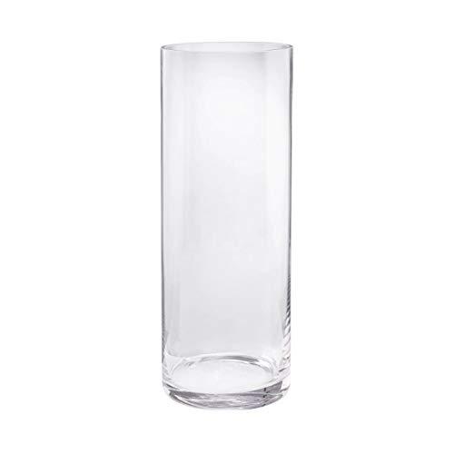Butlers Pool zylindrische Vase - Vase aus Glas | Zylindrische Glas-Vase | Höhe 40 cm, Ø 15 cm