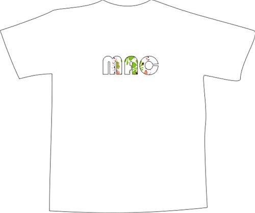 T-Shirt E433 Schönes T-Shirt mit farbigem Brustaufdruck - Logo / Grafik ...