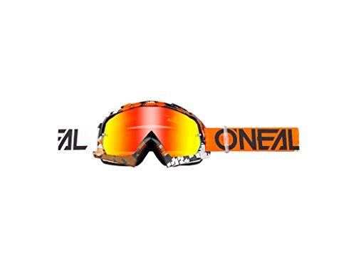 O'neal B10 Pixel Goggle Goggle MX DH Brille schwarz/orange/radium Oneal