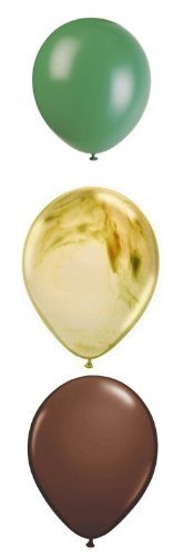 y Supplies Latex Balloons 12 count by Camo Party ()