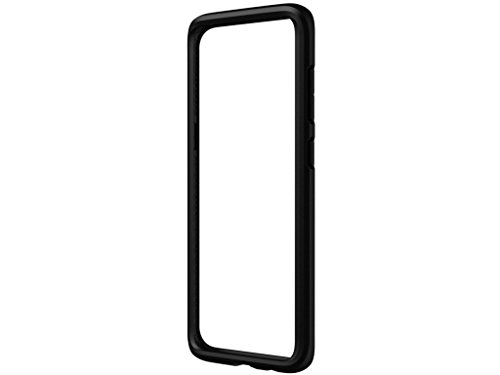 Samsung Galaxy S8 Case, RhinoShield [CrashGuard] Heavy Duty 11ft Drop Protection [High Durability] Thin Lightweight Protective Bumper - Perfect w/ Skin [Great for NFC and Wireless Charger] - Black