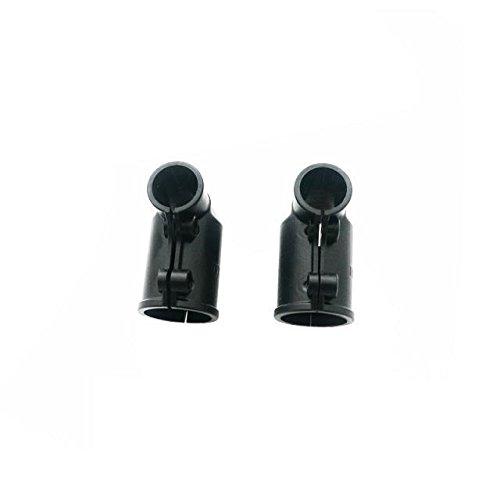 Preisvergleich Produktbild Goliton® Stativ untere Rod Clamp Stangen klemm Rohrklemme Stangenklemmplatte für Fahrwerk (Zwei im Lieferumfang) - Schwarz