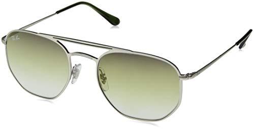 Ray-Ban Unisex-Erwachsene 91420S Sonnenbrille, Grau (Demi Gloss Silver), 54