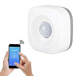 Wireless WiFi Smart Home Inpassive PIR rilevatore di movimento a infrarossi sensore di sicurezza antifurto allarme antintrusione Home Office work con Smartlife app