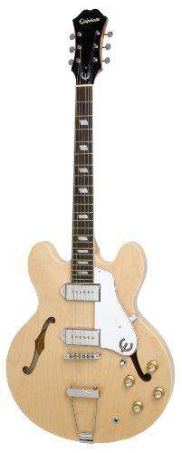 -Line Hollow Body E-Gitarre, Naturlack (Mahagoni Hals, Ahorn Korpus) ()
