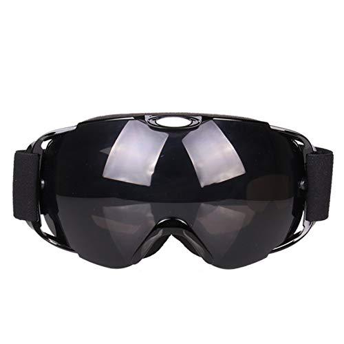 Sportsonnenbrille Fahrrad Skibrille Doppelt Anti Fog Khika Myopia Snow Blind Winddicht Sandbrille Ski Brille Black Damen Herren
