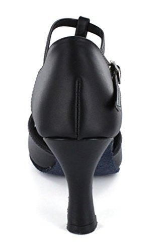 TDA - Ballroom donna Black Leather