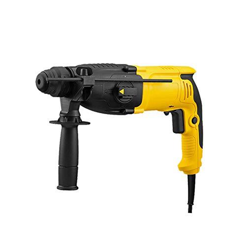 QQLK Bohrhammer, Bohrer, Hammer, Becken, 3 Modi 800 W, 26 Mm / 13 Mm, 1150 U/Min, 4300 U/Min, 3,4 J