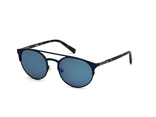 Timberland Unisex-Erwachsene Brillengestelle TB9120 91D 54, Blau (Blu Op\\Fumo Polar)