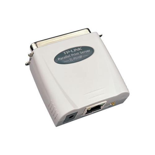 TP-Link TL-PS110P Serveur d'Impression Fast Ethernet avec 1 Port Parallèle