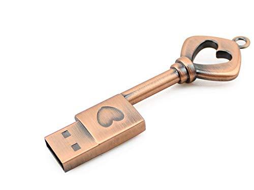 Pendrive usb flash drive stile cinese retro chiave disco u. 4/8/16/32 / 64gb trasmissione ad alta velocità 79 * 25 * 9 millimetri piccolo e portatile interfaccia usb (64gb)