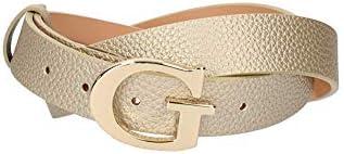 Guess H30 BW7310VIN30 - Cinturón con hebilla (85 cm), color dorado