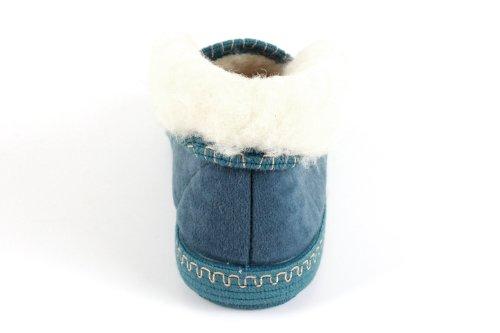 Machado Made 27902 Futter Grün Lammwolle Aus Knöchelhoch Wolle In Andres Spain Hausschuhe 5wwq0gpF
