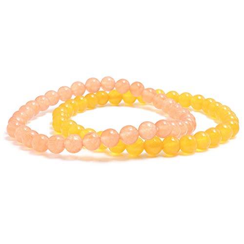 CTRCHUJIAN Traubengrün Und Malaysische Jade Natürliche Edelstein Achate Onyx Armband Für Frauen Männer Armreifen 6Mm Energie Perlen Gebet Armband - Malaysische Natürliche