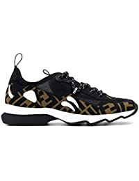 b5fc6b13ca7 Fendi Mujer 8E6912A6RPF0VQD Negro PVC Zapatillas