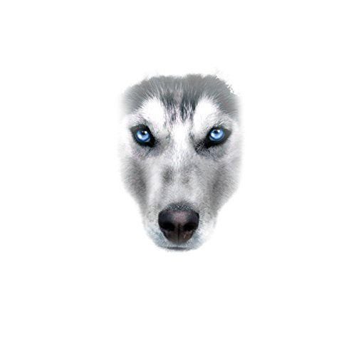 Husky Hund Tiere Damen T-shirt XS-2XL Neu Weiß