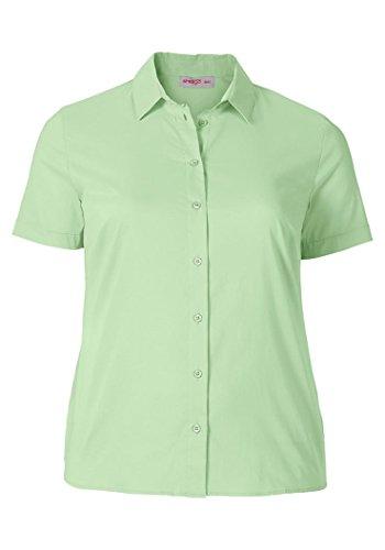 Sheego, Blouse Femme Vert - Grün (apfelgrün)
