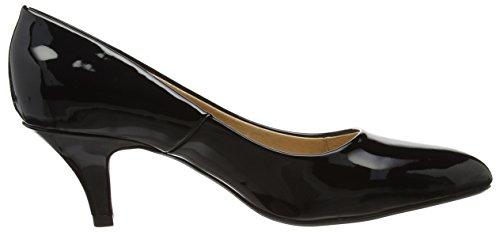 CLIO Cour Chaussures Lotus Black Noir ZBwzwgq