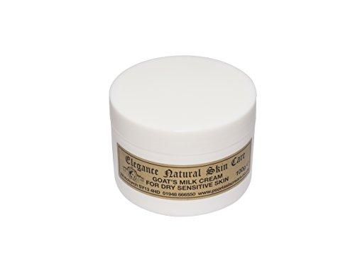 Crema di latte di capra 100g per Eczema, Psoriasi, Rosacea, Dermatite, Made in UK