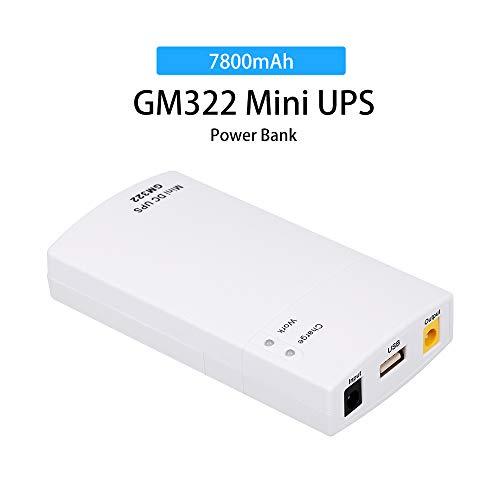 Docooler GM322 Mini UPS Poder Proteccion Cargador