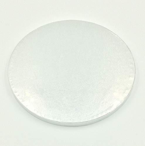 Cake Drum ø 38 cm Tortenplatte Tortenunterlage RUND 15 inch Cake Board Höhe 10-13mm (Cake 12 Board)