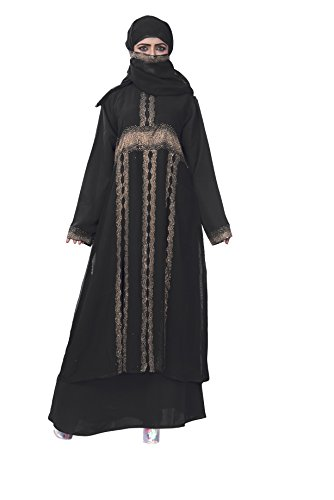 37cfd0acf104f Women s Muslim Long Clothing Abaya Islamic Kaftan Burka Lady Cocktail Dress