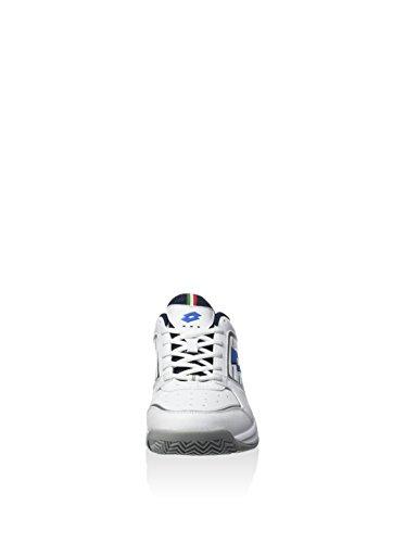 Lotto Sport T-Tour Vii 600, Baskets Basses Homme Blanco / Azul
