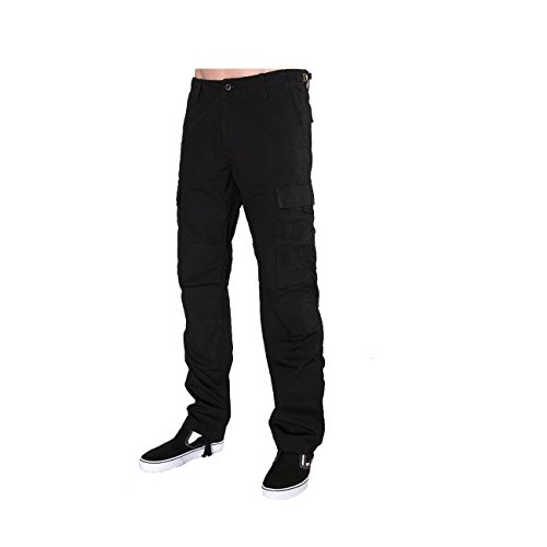 Carhartt Aviation Pant, Pantalon Homme Noir