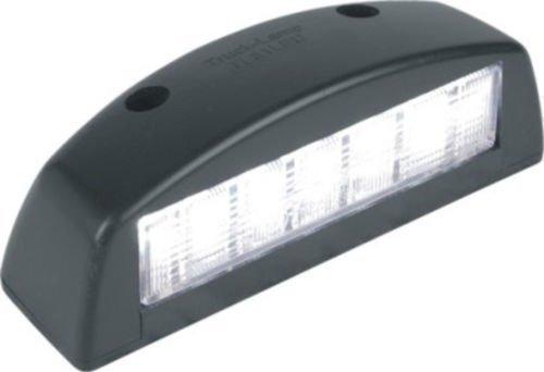 Lite Grün: LED Lizenz Nummernschild Lampen Licht 12v TRAKTOR ANHÄNGER LKW BUS AUTO E APP-12000801/12000803 (Schwarz)