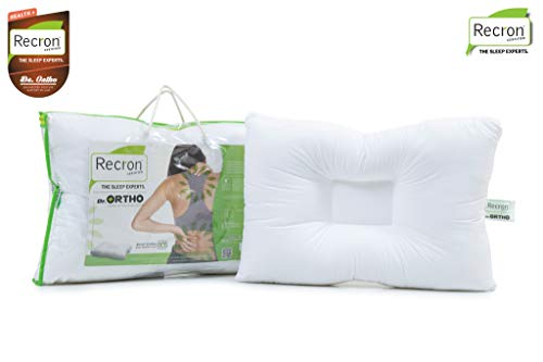 Recron Certified P.C. Ortho Pillow, 24'' x16'', White