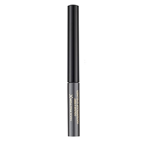 Max Factor Colour X-Pert Waterproof Eyeliner 02 Metallic Anthracite, 1er Pack (1 x 2 ml)